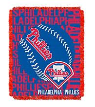 Philadelphia Phillies Jacquard Throw