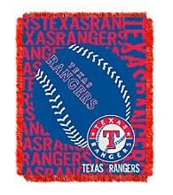 Texas Rangers Jacquard Throw