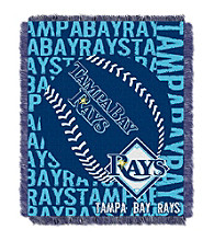 Tampa Bay Rays Jacquard Throw