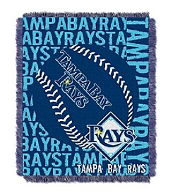 MLB® Tampa Bay Rays Jacquard Throw