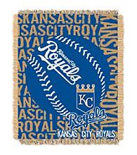 Kansas City Royals Jacquard Throw