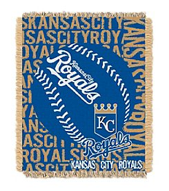 MLB® Kansas City Royals Jacquard Throw