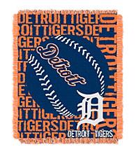 Detroit Tigers Jacquard Throw