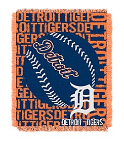 MLB® Detroit Tigers Jacquard Throw