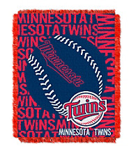Minnesota Twins Jacquard Throw