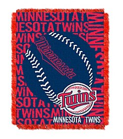 MLB® Minnesota Twins Jacquard Throw