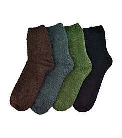 MUK LUKS Men's Multi 4-Pack 8