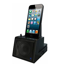 Dok 2-Port Smart Phone Charger with Bluetooth Speaker, Speaker Phone, and Rechargeable Battery