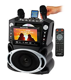Karaoke USA DVD/CDG/MP3G Karaoke System with 7