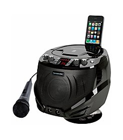 Karaoke USA Portable Karaoke CDG Player with Built-in Cradle