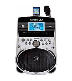 Karaoke USA Portable Karaoke MP3 Lyric Player with 3.2