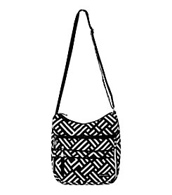Jenni Chan Signature Black and White Soft Crossbody