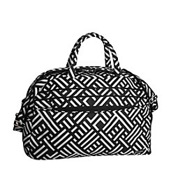 Jenni Chan Signature Black and White Duffel