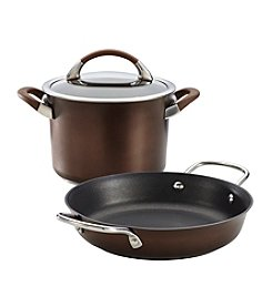 Circulon® Symmetry 3-pc. Chocolate Hard-Anodized Nonstick Cookware Set + GET THIS FREE see offer details