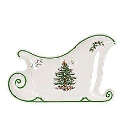 Spode® Christmas Tree Sleigh Plate