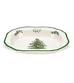 Spode® Christmas Tree Open Vegetable Dish