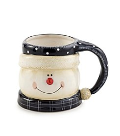 Certified International Snow Pals Figural Mug