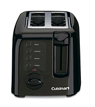 Cuisinart® Black Compact Cool-Touch 2-Slice Toaster