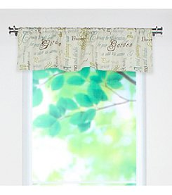 Chooty® Chatsworth Citron Valance