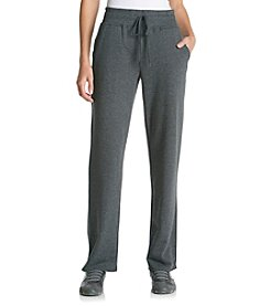 Gloria Vanderbilt Sport Lorrie Solid Knit Pants