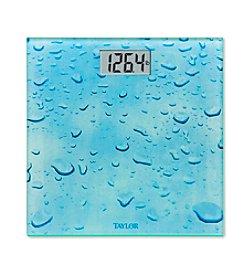 Taylor® Rainy Day Glass Digital Bath Scale
