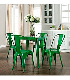 Crosley Furniture Amelia 5-pc. Metal Cafe Dining Set