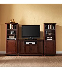 Crosley Furniture Cambridge TV Stand and Two 60