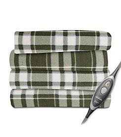 SlumberRest Fleece Prestwick Plaid Heated Throw