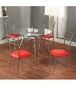 Target Marketing Systems 5-pc. Mabel Metal Dining Set