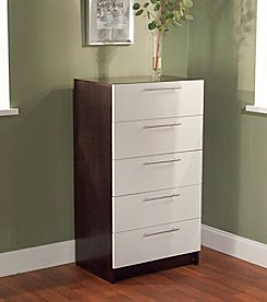 Target Marketing Systems 5-Drawer Contemporary Chest