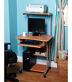 Target Marketing Systems Mobile Computer Tower with Shelf