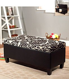 Target Marketing Systems Zoe Storage Ottoman Bench