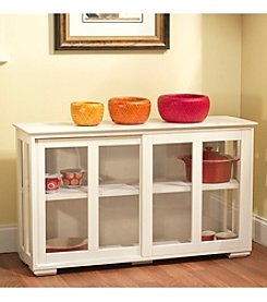 Target Marketing Systems Stackable Storage Cabinet with Acrylic Door