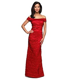 Alex Evenings® Off The Shoulder Taffeta Gown