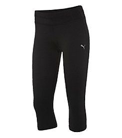 PUMA® Black Slim Running Pants