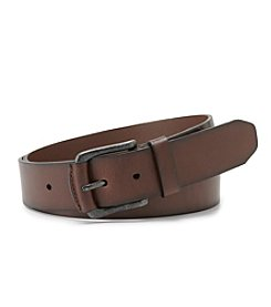 Fossil® Men's Dark Brown 'Carson' Leather Belt