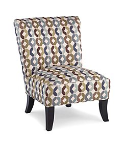 HM Richards Statesville Teal Townhouse Accent Chair