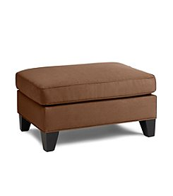 HM Richards Espresso Townhouse Ottoman