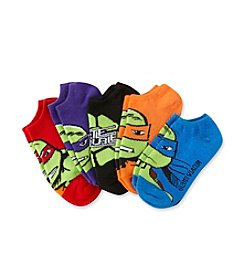 Teenage Mutant Ninja Turtles® Boys' Assorted 5-pk. No-Show Socks