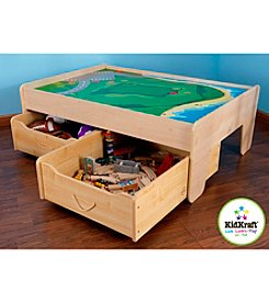 KidKraft Train Trundle Drawers - Natural