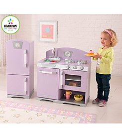 KidKraft Lavender Retro Kitchen and Refrigerator