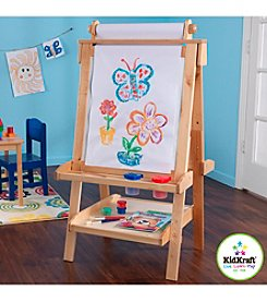 KidKraft Deluxe Wood Easel - Natural