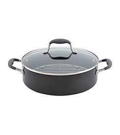 Anolon® Advanced 5.25-qt. Hard-Anodized Nonstick Covered Braiser with Rack