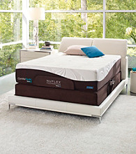 ComforPedic Restored Spirits Luxury Plush Mattress & NuFlex Adjustable Base Set