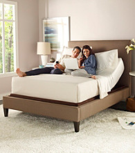 ComforPedic Advanced Rest Luxury Firm Mattress & NuFlex Adjustable Base Set