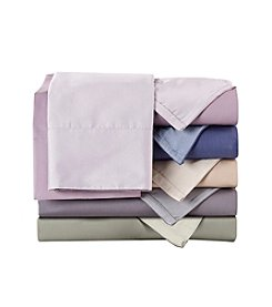 Elite Home Products Reversible 600-Thread Count Cotton Rich Sheet Set