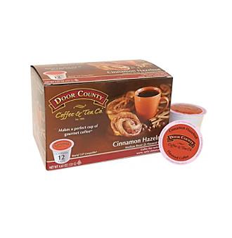 Door County Coffee & Tea Co. Cinnamon Hazelnut Coffee 12-ct. Single Serve Cups