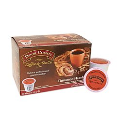 Door County Coffee & Tea Co. Cinnamon Hazelnut Coffee 12-pk. Single Serve Cups
