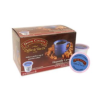 Door County Coffee & Tea Co. Heavenly Caramel 12-ct. Single Serve Cups