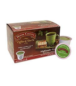 Door County Coffee & Tea Co. Highlander Grogg Coffee 12-pk. Single Serve Cups